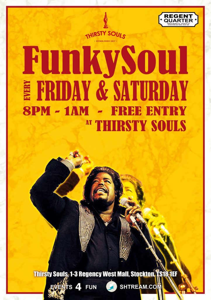 Funky Soul at Thirsty Souls